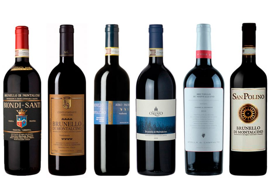 Best Brunello di Montalcino wines