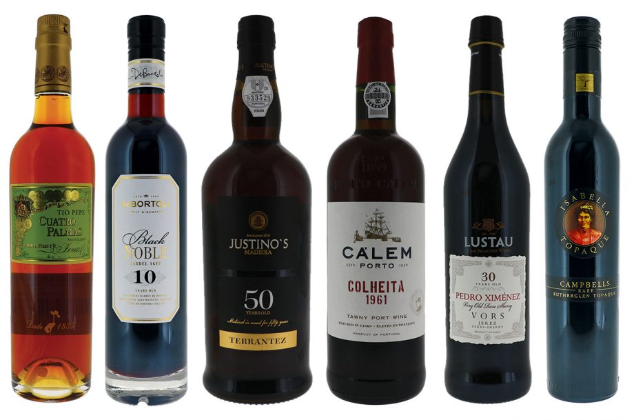 DWWA 2020 Top fortified wines