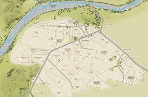 Gimblett Gravels winery map