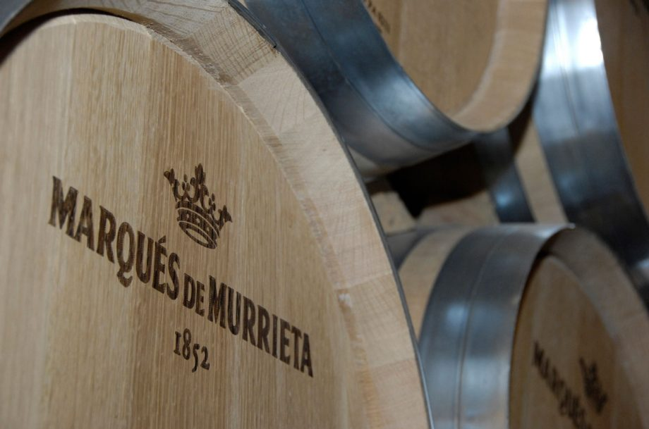 Marques de Murietta Rioja barrels; Rioja vintages drink now
