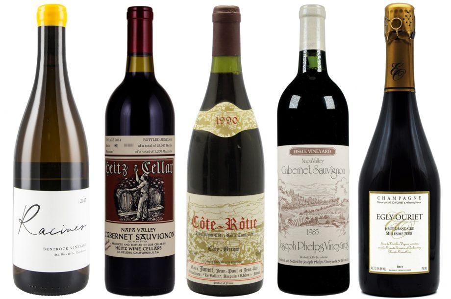 Top 10 fine wines; Matthew Luczy wines 2020
