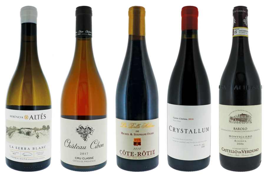 Decanter's top panel tasting wines 2020