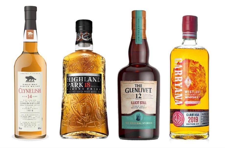 Single Malt Whisky Glenlivet Highland Park Clynelish Westland
