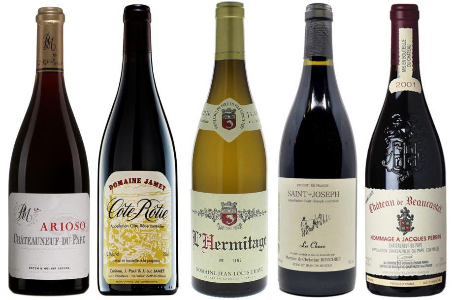 Top-10-Rhone-wines-of-the-Year; Matt Walls wines 2020