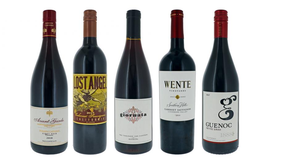 best California red wines