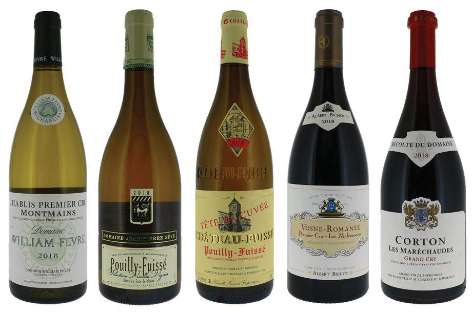 DWWA 2020 Best Burgundy wines