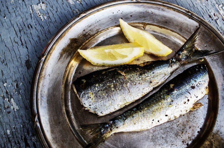 Lugana food pairing sardines