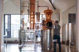 Salcombe Gin Distillery; London dry gin