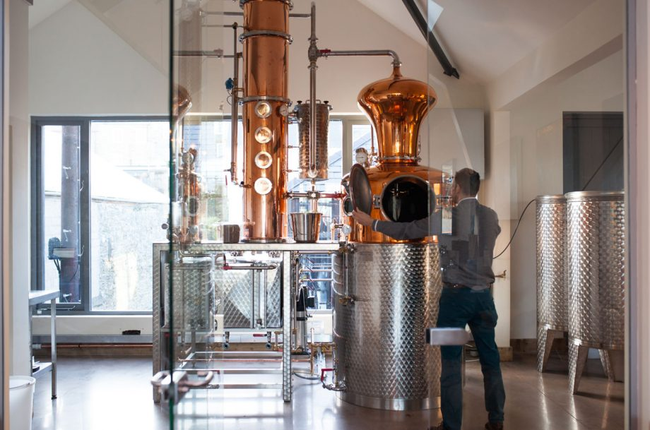 Salcombe Gin Distillery; London dry gin