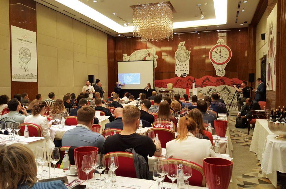 Spanish Wine Academy training day
