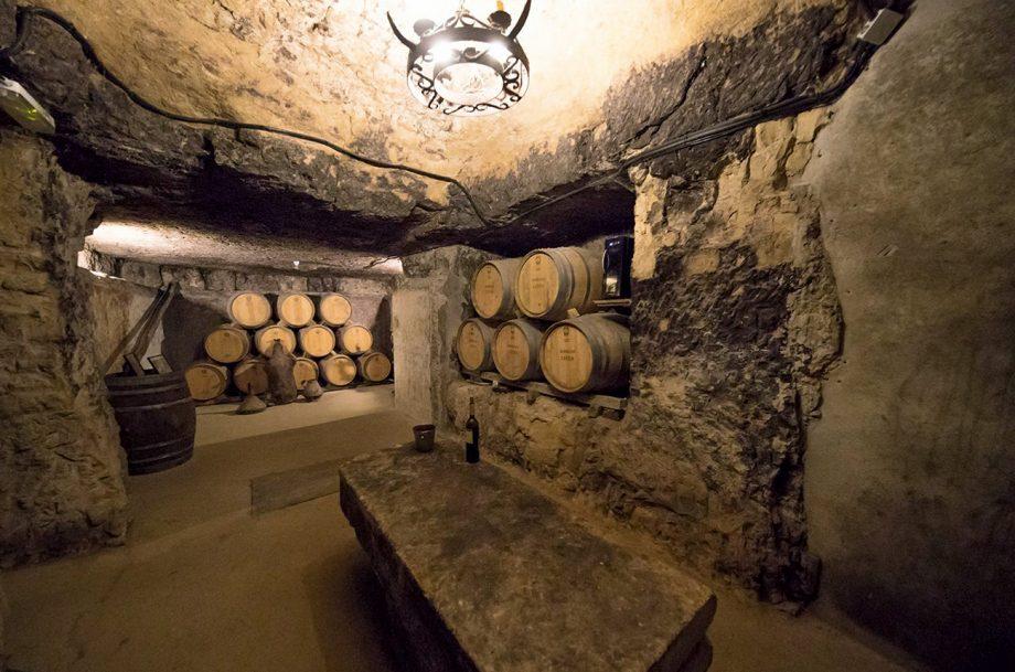Bodegas Lecea Cellar