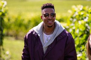 CJ McCollum learns about wine at Adelsheim