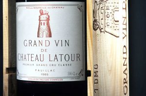 1985 bordeaux first growths tasting