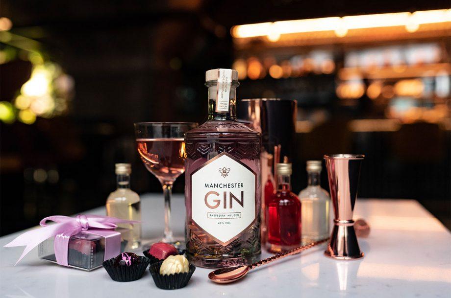 Manchester Gin Valentines Cocktail