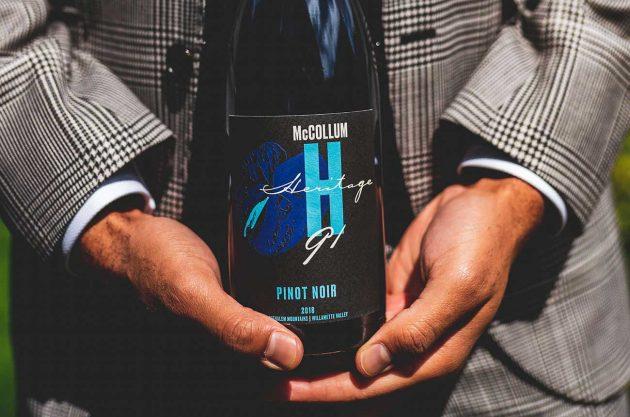 McCollum heritage 91 wine, 2018 vintage
