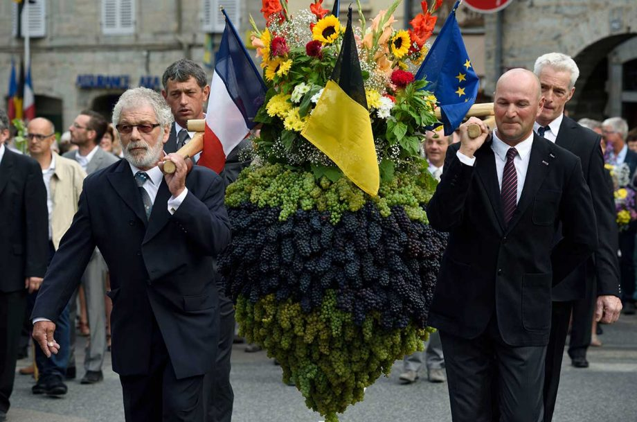 wine festival the 'biou d'arbois' may get unesco status.