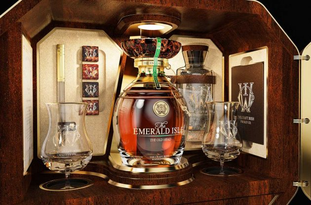 irish whiskey and fabergé collection