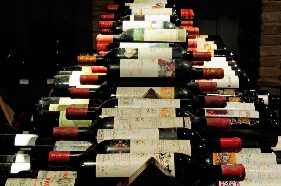 Left Bank Bordeaux reds Mouton Rothschild