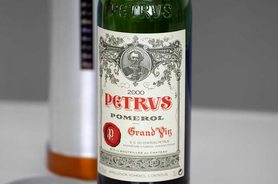 Petrus 2000 wines spent 14 months in space