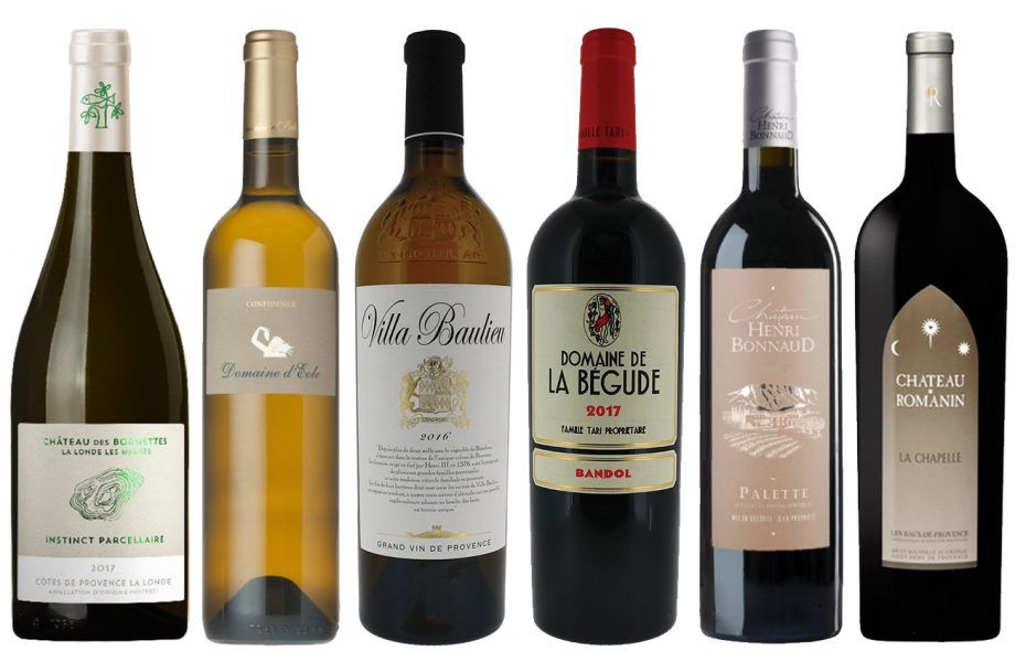 DWWA 2020 Top Provence wines: white & red