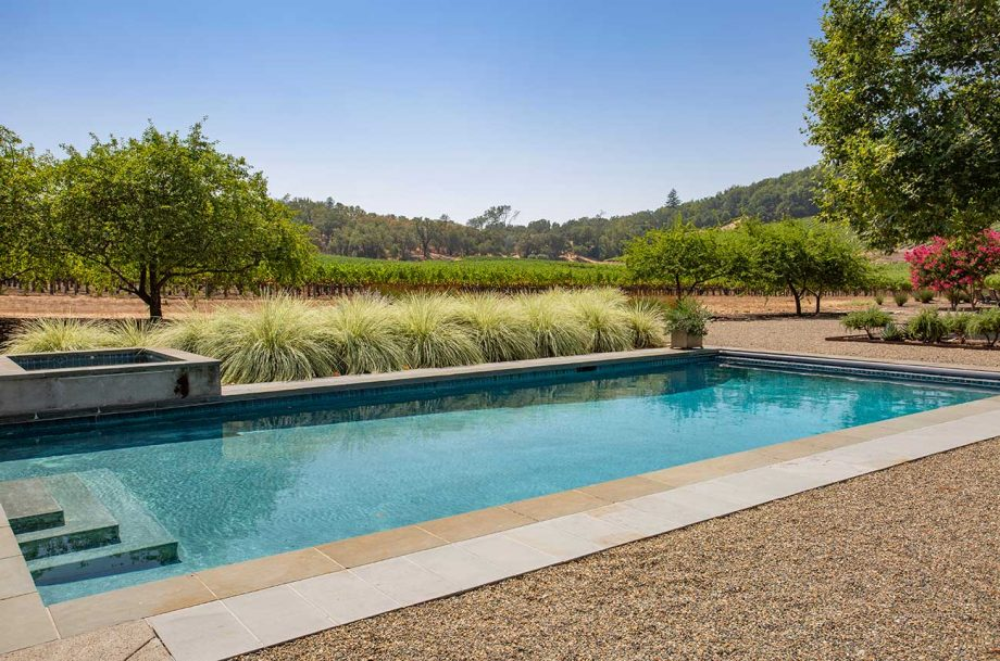 A luxury vineyard property for sale in Sonoma County, listed by Sotheby's International Realty.
