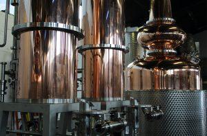 Stills at The Glasgow Distillery
