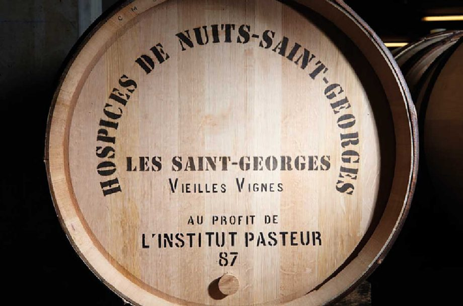 The 'charity pièce' for the Hospices de Nuits auction in 2021