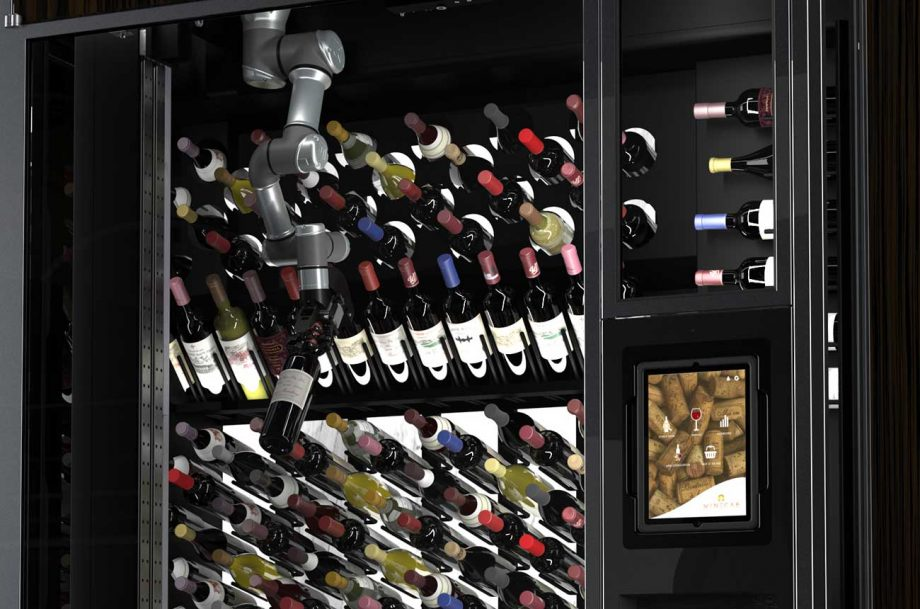 luxury wine wall 'WineCab' launches