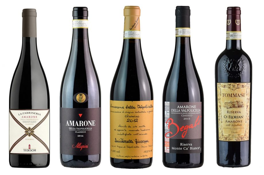 Amarone with food