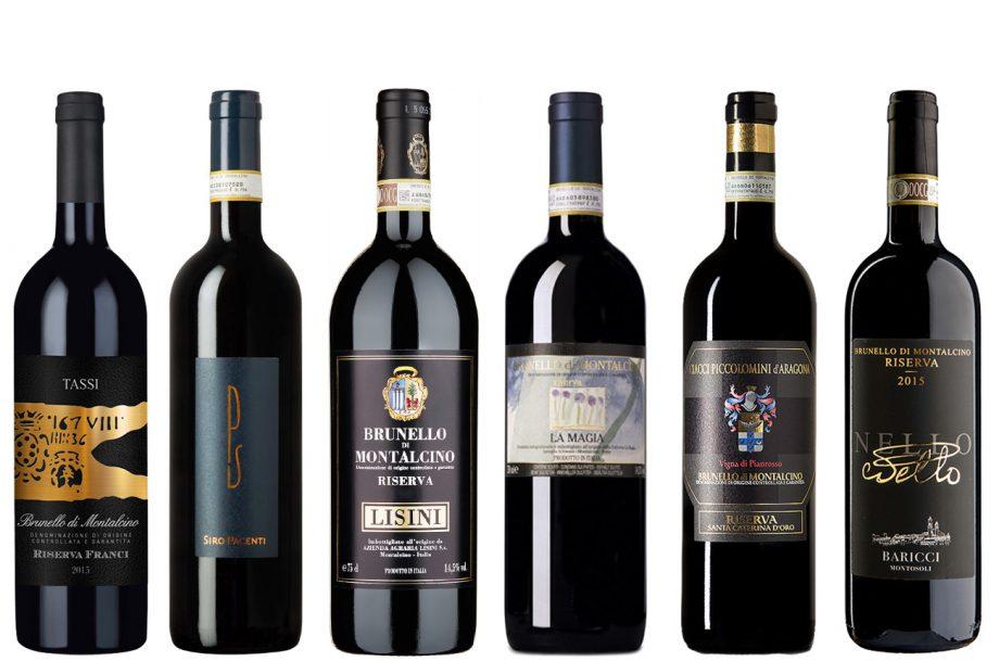 Brunello di Montalcino Riserva 2015 wines