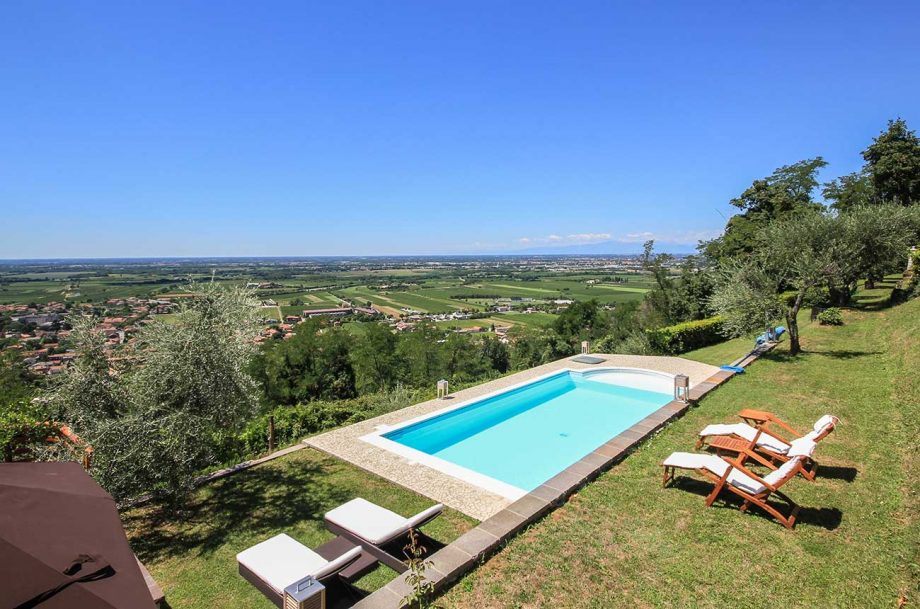 Friuli vineyard property listed by Christie's and Romolini in Italy