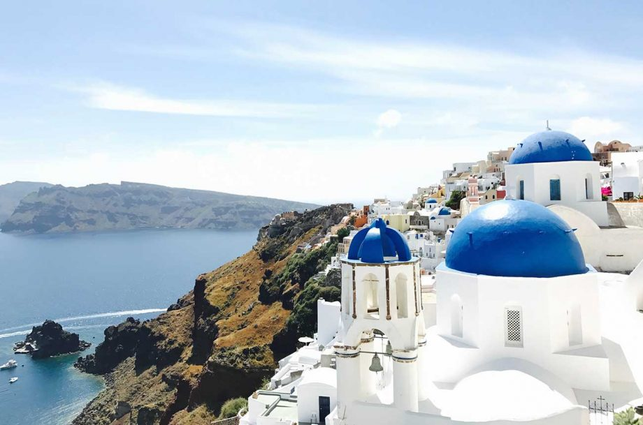 Wineries on Santorini are among those to have faced a tough time economically during the Covid-19 crisis