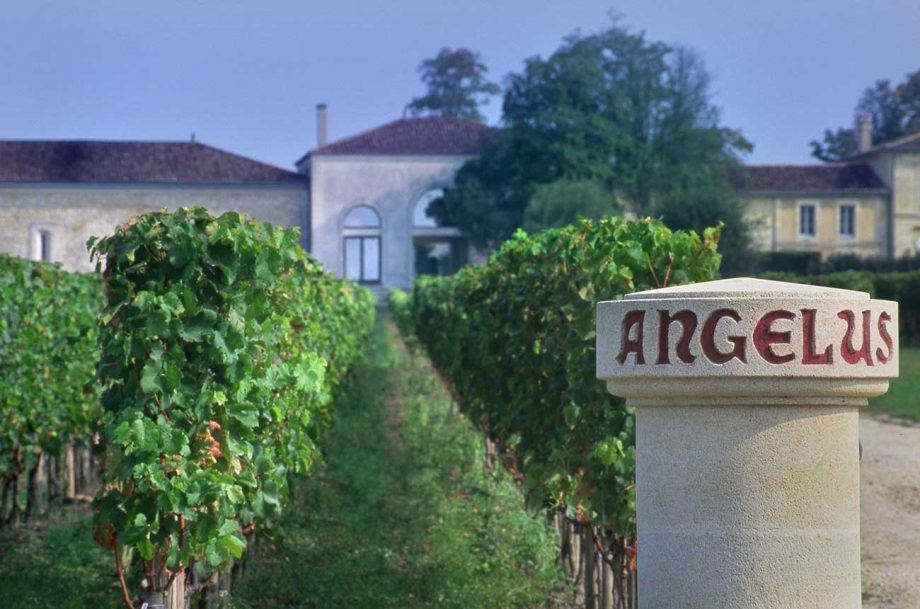 Château Angelus in St-Emilion, which has released its en primeur wine in the Bordeaux 2020 campaign.