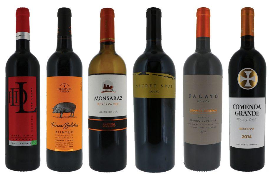 Portugal top-scoring red wines of DWWA 2020