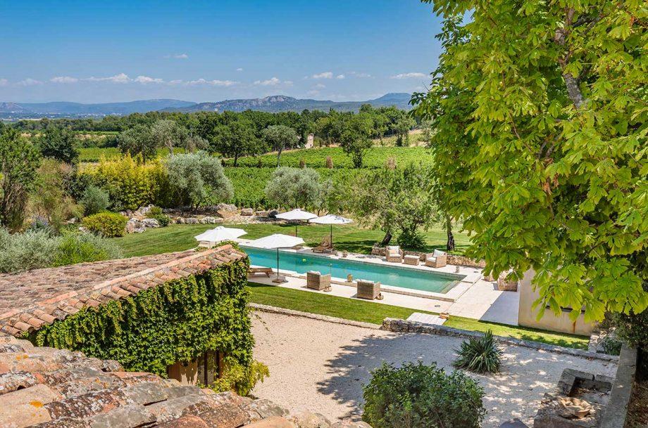 Vineyard living near Aix-en-Provence: An estate offered for sale by Christie's International Real Estate.