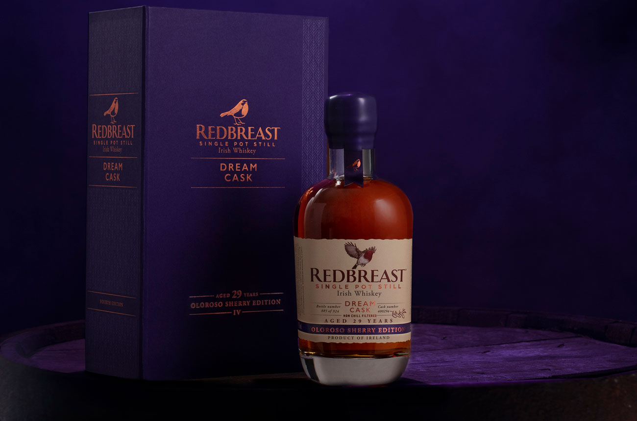 Redbreast unveils Dream Cask Oloroso Sherry Edition for World Whisky Day 2021 - Decanter