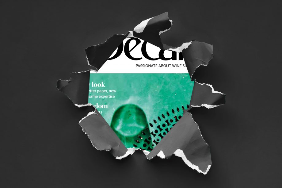 A small preview of the new-look Decanter magazine