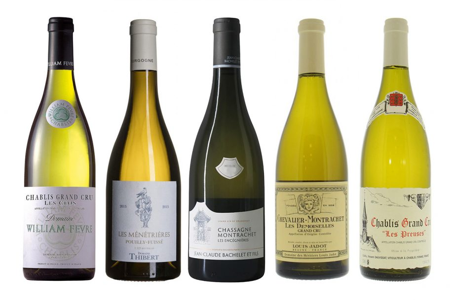 white Burgundy vintages to drink now