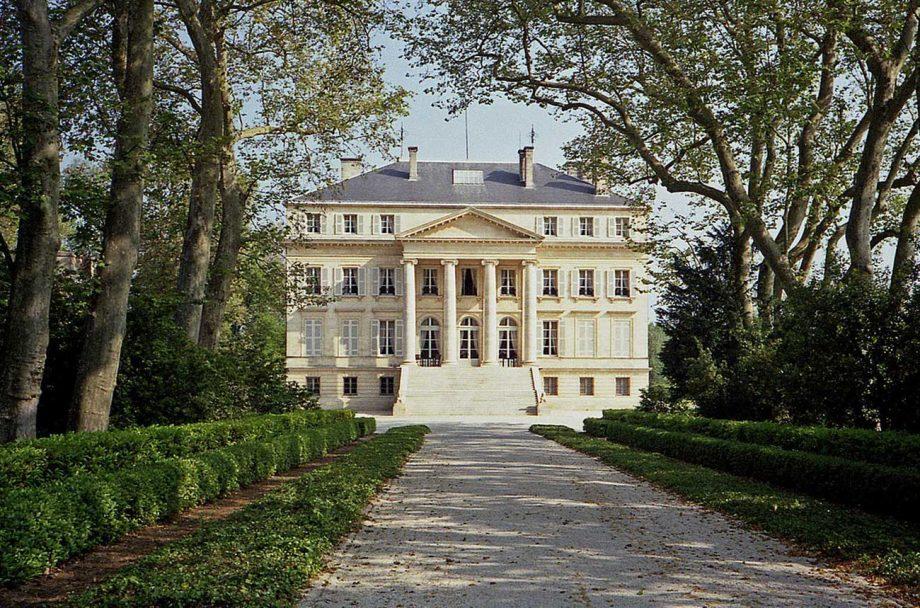Château Margaux in Bordeaux