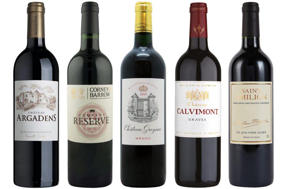 Bordeaux wines under £20