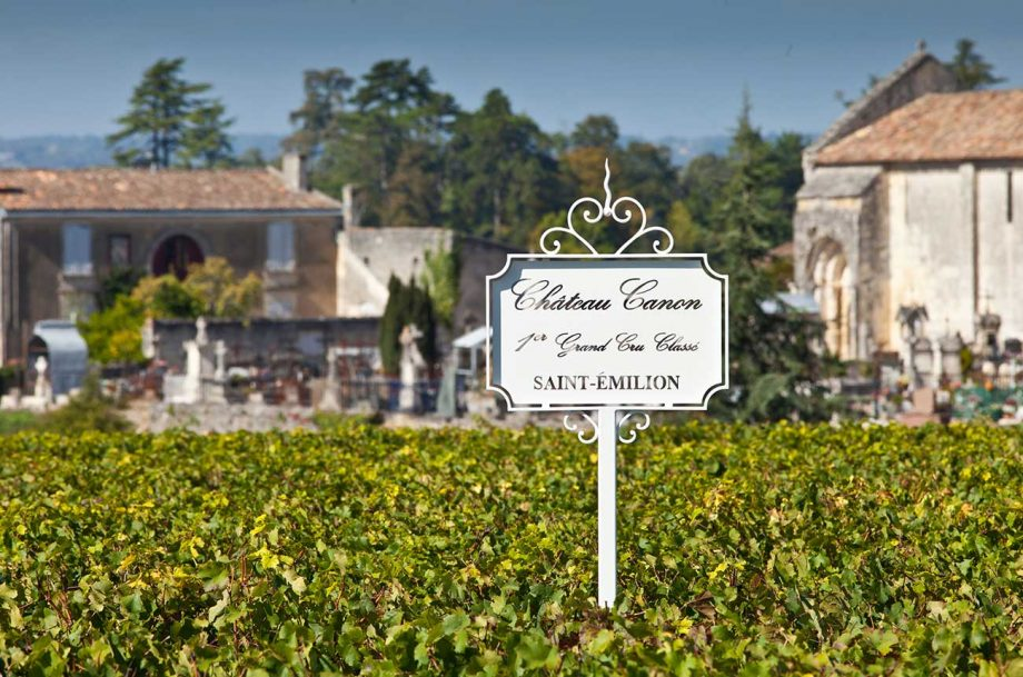 Château Canon in St-Emilion: It was among the Bordeaux 2020 wines that sold well en primeur.