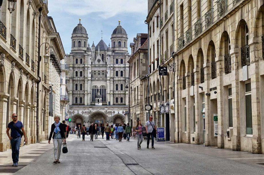 Dijon city centre
