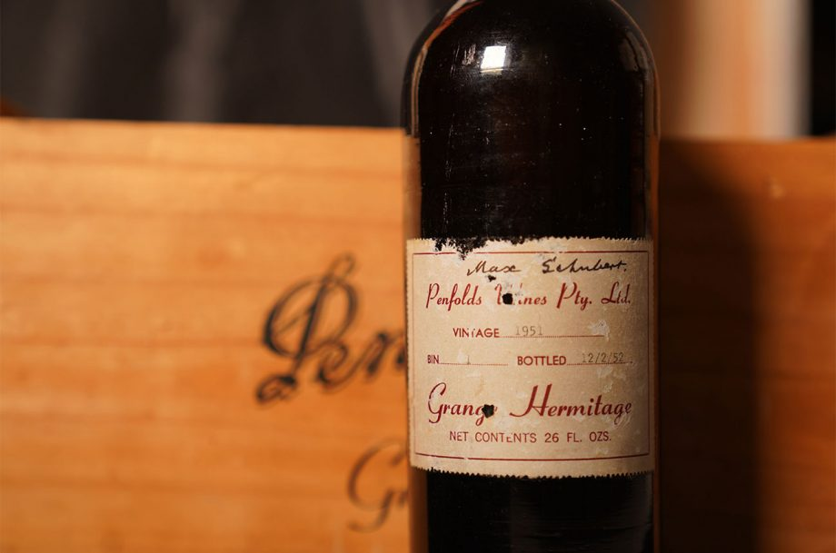Penfolds 1951 at auction