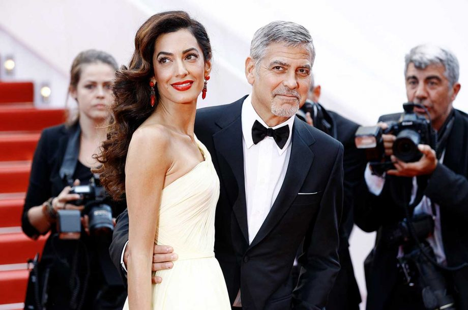 George and Amal Clooney photographed in 2016, five years before their arrival at the Canadel estate in Provence.