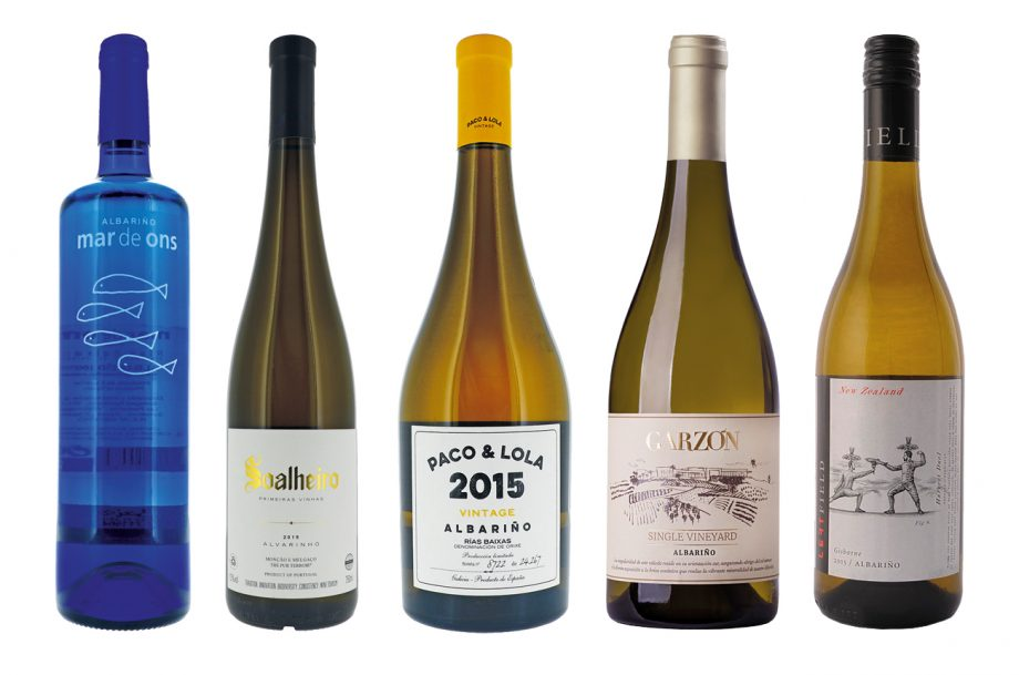 DWWA 2021 top-scoring Albariño wines: Aguiuncho, Soalheiro, Paco & Lola, Garzon and Left Field