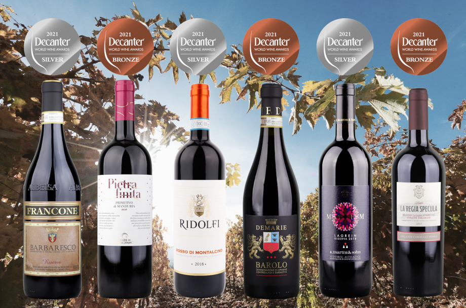 Independent Wine's DWWA Italian reds case, with