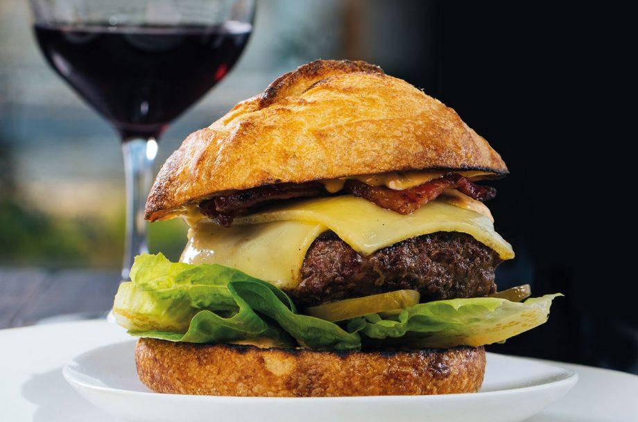 Food pairing G&G burger