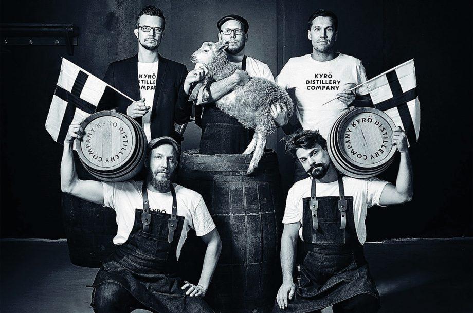The Ryevolution: Rye Whiskey Kyro Distillery founders