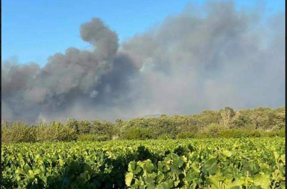 fires southwest France