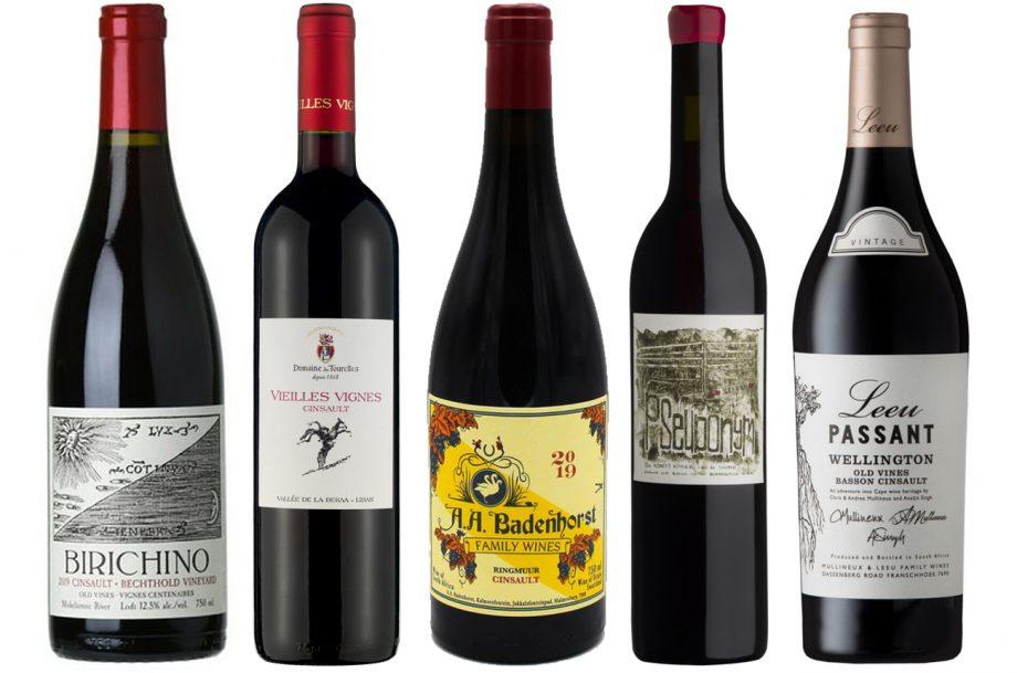 Cinsault wines